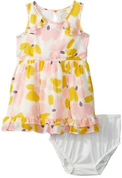 Kate Spade Kids Ruffle Hem Dress Set Girl's Dress