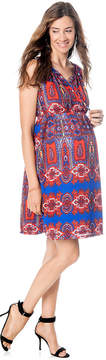 Eight Sixty Maternity Printed A-Line Dress