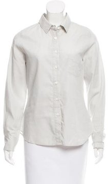 Boy By Band Of Outsiders Long Sleeve Button-Up Top