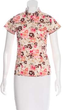 Papo d'Anjo Printed Button-Up Top