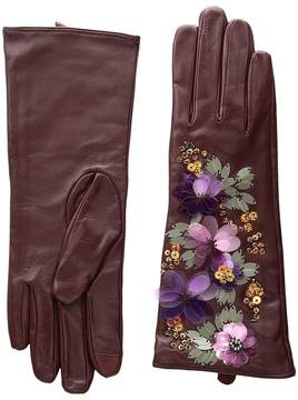 Echo Floral Cascade Gloves Dress Gloves