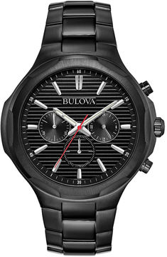 Bulova Mens Black Bracelet Watch-98a189