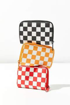 Urban Outfitters Checkered Wallet