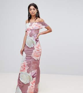 Bardot City Goddess Tall Floral Bloom Print Maxi Dress