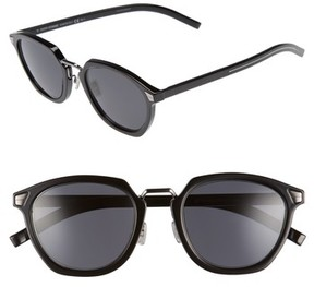 Christian Dior Men's Tailoring 51Mm Sunglasses - Black