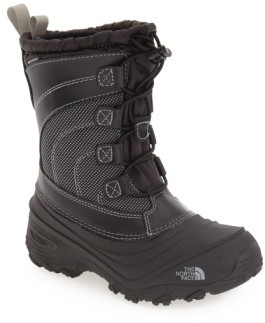The North Face Boy's 'Alpenglow Iv' Bungee Lace Waterproof Boot