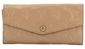 Louis Vuitton Beige Monogram Empreinte Curieuse Wallet. - NO COLOR - STYLE