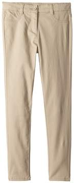 Nautica Stretch Five-Pocket Sateen Pants Girl's Casual Pants