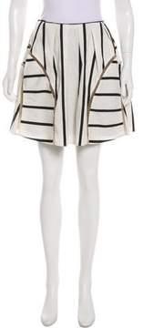 Barneys New York Barney's New York Flared Mini Skirt
