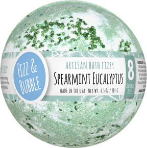 Fizz & Bubble Spearmint Eucalyptus Large Bath Fizzy