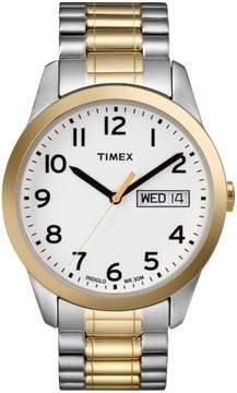 Timex Mens Goldtone Classic Dress Watch - T2N065