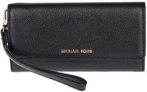 MICHAEL Michael Kors Mercer Continental Wallet - BLACK - STYLE