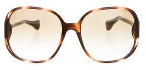 Tod's Marble Oversize Sunglasses
