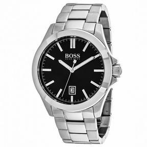 HUGO BOSS Essential 1513300 Men's Round Silver Stainless Steel Watch