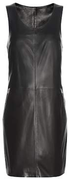 Calvin Klein Jeans Exclusive to mytheresa.com – Racer Zip leather minidress