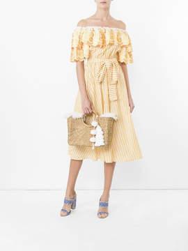 Bardot Gul Hurgel Ruffle dress