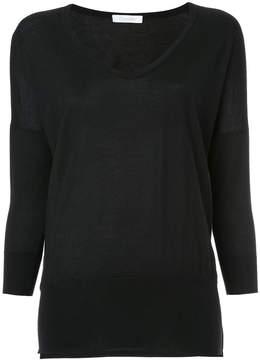 Cruciani scoop neck sweatshirt