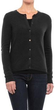 Adrienne Vittadini Vintage Cashmere Cardigan Sweater (For Women)