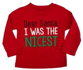 Carter's Infant & Toddler Boys I Was The Nicest Christmas Long Sleeve T-Shirt