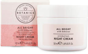 Botanics All Bright Hydrating Night Cream