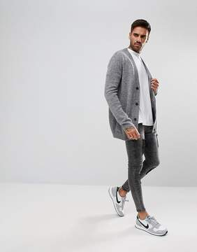 Pull&Bear Cardigan In Gray