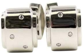 Piaget 18K White Gold Diamond Cufflinks