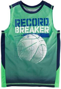 Osh Kosh Boys 4-12 Record Breaker Basketball Active Tank Top