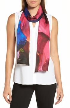 Ted Baker Women's Impressionist Bloom Silk Skinny Scarf