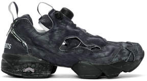 Vetements Black Reebok Edition Instapump Fury Sneakers
