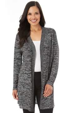 Apt. 9 Women's Marled Long Cardigan Sweater
