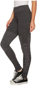 Converse Engineered Jacquard Leggings Women's Casual Pants