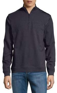 Black & Brown Black Brown Quarter-Zip Pullover