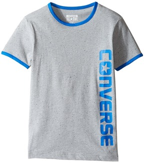 Converse Short Sleeve Ringer Wordmark Boy's Clothing