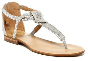 Jack Rogers Jenna Braided Thong Sandal