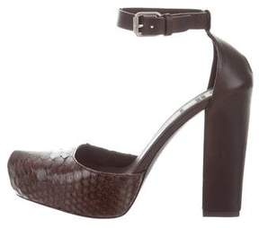 Brunello Cucinelli Python Platform Pumps w/ Tags