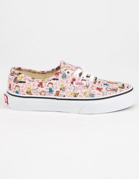 Vans x PEANUTS Dance Party Authentic Girls Shoes