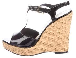 Bally Palomita Platform Wedge Sandals