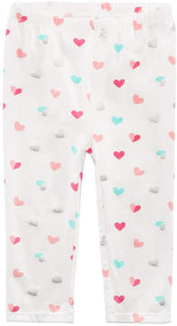First Impressions Heart-Print Leggings, Baby Girls (0-24 months), Created for Macy's