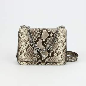 Michael Kors Mott Large Charm Swag Shoulder Snake print leather - ONE COLOR - STYLE