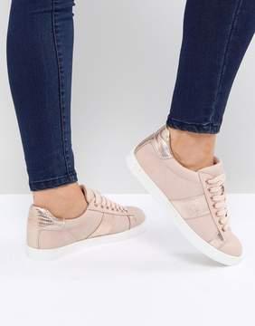 Miss KG Metallic Side Stripe Sneaker