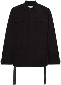Off-White Black Field Jacket