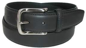 Tommy Hilfiger Men's Harness Buckle 35mm Stiched Edge Belt, 44, Black