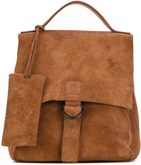Marsèll flap closure backpack