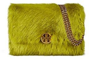 Tory Burch Chelsea Faux Fur Convertible Shoulder Bag - CRESS - STYLE