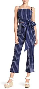 WAYF Pisa Stripe Cropped Pants