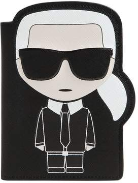 Karl Lagerfeld K/Ikonic Passport Holder