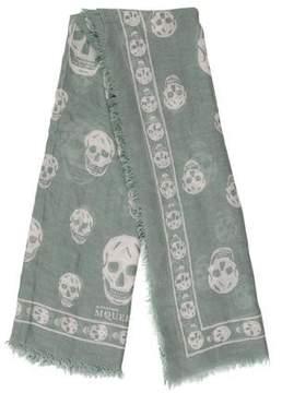 Alexander McQueen Skull Patterned Scarf