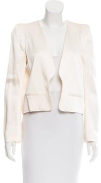 Vanessa Bruno Satin Cropped Jacket