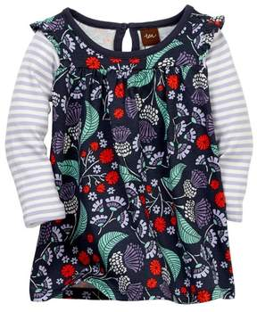 Tea Collection Thistle Mighty Mini Dress (Baby Girls)