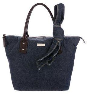 Kate Spade Emily Denim Handle Bag - BLUE - STYLE